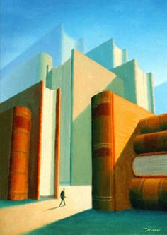 The New Yorker. October Cover by Eric Drooker. In the Drooker broadened his scope from graphic arts to painting, creating several covers for The New Yorker and a book of illustrations. The New Yorker, New Yorker Covers, High School Art, Middle School Art, Arte Elemental, Perspective Art, Perspective Illustrator, Linear Perspective Drawing, Drawing Projects
