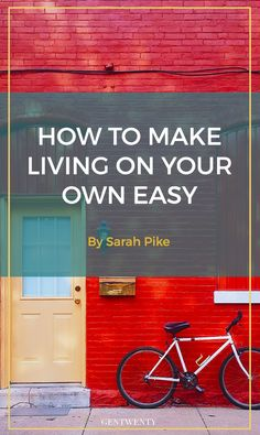 Living alone for the first time can be exhilarating. You can come and go as you please or watch a marathon of your favorite reality series without anyone else's approval.  If you're ready to live on your own, click through for tips to make the transition as easy as it is empowering.