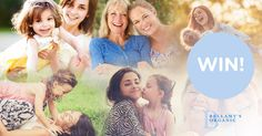 Reward a mother you know this Mother's Day with an experience she won't forget. Competition Giveaway, Win Competitions, Mums The Word, Red Balloon, Mission Impossible, Creative Gifts, Family Life, Parenting Hacks, Our Wedding