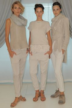 Brunello Cucinelli RTW Spring 2013 Love the use of whites and neutrals