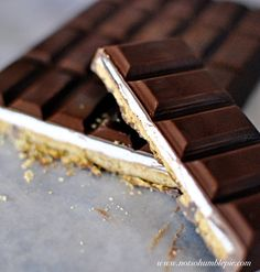 Recipe for Smores Chocolate Bars - Chocolate, any way YOU want it! It doesn't require a lot of specialized equipment, just a little time, a lot of chocolate and a dash of know-how.