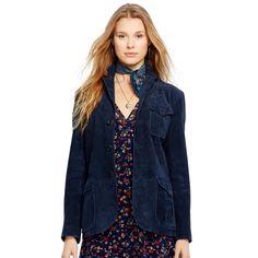 Suede Sport Coat - Jackets  Jackets & Outerwear - RalphLauren.com