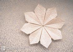 Origami Flower - Flor de Maria by Carla Onishi | Go Origami!