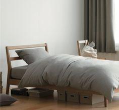 Muji Twin Bed