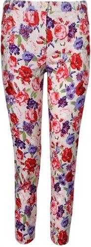 Pants PANT IN FLORAL PRINT