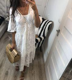 Sukienka plażowa zapinana na guziki Bels