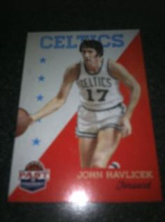 John Havlicek Brand New * 2011-12 Past & Present * NBA Basketball Card Boston Celtics Free Ship $2.00