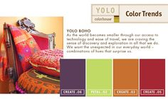 bohemian color scheme - Google Search