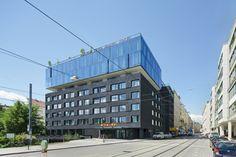 25hours Hotel in Vienna by BWM Architekten