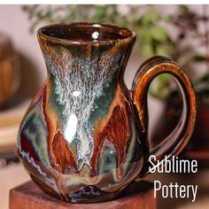 Glazes For Pottery, Pottery Mugs, Ceramic Pottery, Pottery Ideas, Pottery Sculpture, Sculpture Art, Ceramic Cups, Ceramic Jewelry, Mug Cup