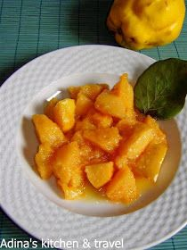Adina's kitchen & travel: Mancare de gutui Gordon Ramsay, Cantaloupe, Supe, Food, Sweets, Canning, Fine Dining, Bakken, Eten