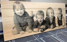 Photo printing on wood: a - Wood Decora la Maison Diy Photo, Photo Craft, Dyi Crafts, Home Crafts, Do It Yourself Decoration, Foto Picture, Cuadros Diy, Photo Deco, Foto Transfer