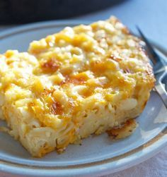 Old-Fashioned Macaroni and Cheese #recipe