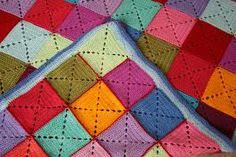 crochet squares - Pesquisa Google