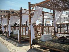Jacaranda Lounge. Es Cana, Ibiza Ibiza Restaurant, Open Air Restaurant, Ibiza Beach, Ibiza Style, Ibiza Fashion, Balearic Islands, Beach Bars, Canary Islands, Cafe Bar