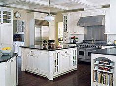 Afbeeldingsresultaat voor amerikaanse koelkast landelijke keukens