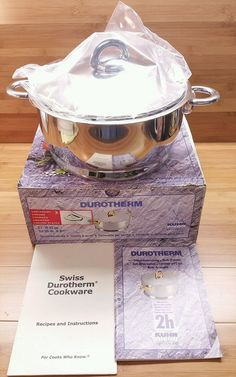 NEW Durotherm 3 Qt Sauce Pan with Coaster - Kuhn Rikon Insulated Cookware 3 1/8 in Home & Garden, Kitchen, Dining & Bar, Cookware | eBay