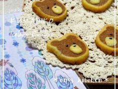 ♡くま♡クマ彦アイスボックスクッキーの画像