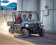 """New 2016 Kawasaki Mule Pro-DXâ""""¢ EPS Diesel ATVs For Sale in Florida. The Mule PRO-DXâ""""¢ EPS is our powerful, most capable, full-size, three-passenger diesel Muleâ""""¢ Side x Side yet. This high-capacity diesel Mule has the largest steel cargo bed in its class so you can easily load a full-size wooden pallet (40 x 48 inches) and upto a1,000-pound payload then close On Sale!!! Call Today!!! Ask for Jacquie B at 954-708-9365. Financing is available for all! Bad credit? No credit? No…"""