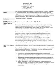 Personal Statement For Resume Best Sample Resume Skills Profile  Httpwww.resumecareersample .