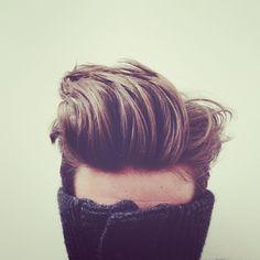 the ideal man's hair-do