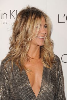 Jennifer Aniston. Hairstyle #wavy