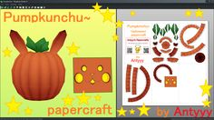 Pumpkinchu papercraft (Free download) by Antyyy.deviantart.com on @DeviantArt