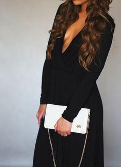 Kup mój przedmiot na #vintedpl http://www.vinted.pl/damska-odziez/sukienki-wieczorowe/15822120-czarna-elegancka-sukienka-z-wycietym-dekoltem
