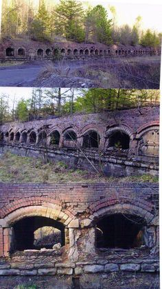 Coke Ovens.  Wise. Co. Va. I remember these as a child.  I remember seeing something like this way back in the hills in Widen, WV