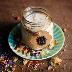 PRESERVE.us - Birthday Cake 100% Soy Candle by Montane Designs