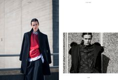 Featuring #Qasimi #Homme on EVERZINE #fashion #magazine Issue III : by Kevin K Wong Studio