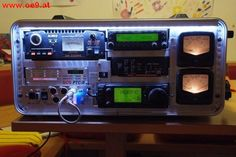 Notfunkkoffer von OE9FWV mit Licht
