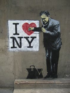 Banksy • City street art