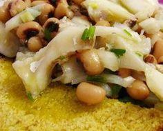 Salada de Feijão Frade com Peixe…