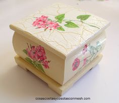 Regalos en decoupage : cositasconmesh