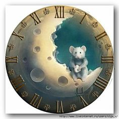 Va-sss-a - Дневник Va-sss-a Maus Illustration, Diy Clock, Cute Mouse, Free Graphics, Rock Crafts, Rock Art, Altered Art, Cute Art, Painted Rocks