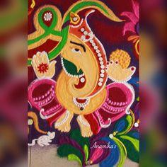 Easy Rangoli Designs Diwali, Rangoli Designs Latest, Latest Rangoli, Rangoli Designs Flower, Rangoli Ideas, Diwali Rangoli, Rangoli Designs Images, Simple Rangoli, Sanskar Bharti Rangoli Designs