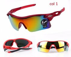 Fashion Men/Women Cycling Glasses- UV400 Outdoor Sports Windproof Mountain Bike Bicycle Motorcycle Polycarbonate Sunglasses