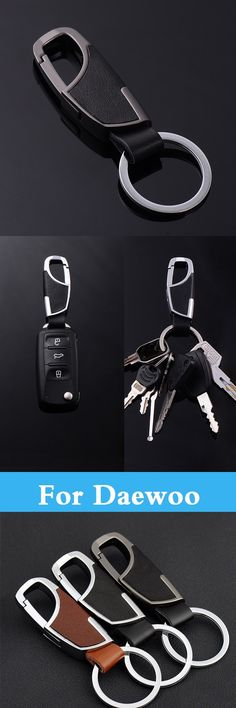 Daewoo cielo daewoo pinterest cars car styling auto leather key chain key ring holder case cover for daewoo evanda g2x gentra fandeluxe Image collections