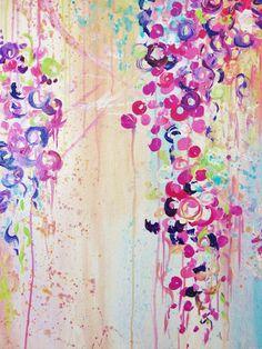DANCE of the SAKURA Floral Fine Art Print Gorgeous by EbiEmporium, $28.00 Floral Cherry Blossom Abstract Painting, Pink Purple Acrylic Design, Modern Home Decor, Sakura, Cherry Blossoms, Japan, Dance, Circles, Bubbles, Peach, Turquoise Blue, Feminine, Lovely, Pretty Floral, Flowers, Time Passing, A Moment in Time, Beauty, Poetic, Nature, Natural Elegance, Outdoors, Kyoto, Hanami, Spring, Springtime, Bouquet, Fleeting Moment, Home Decor, Wall Art, Contemporary Art, Nihon, Sweet, Delicate