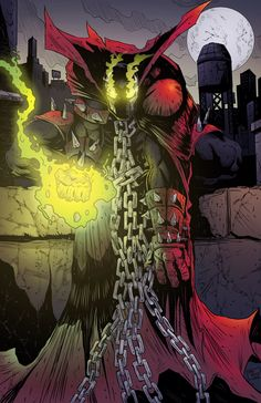 Spawn - Pencils/Inks by James O'Riley / Colors by Thonie Wilson