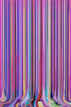 "Juxtapoz Magazine - Ian Davenport ""Doubletake"" @ Paul Kasmin Gallery"