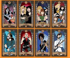 Classic Rock tarot Cards®