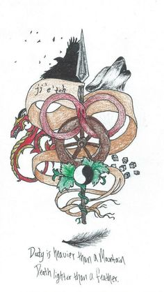 Wheel of Time tattoo. So, I am an artist of sorts and I don't have any tattoos, but I really want one. I drew this up one day, let me know w...