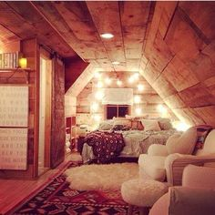 looks good for an attic space