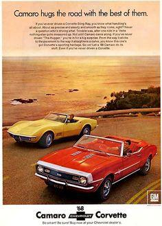 1968 Camaro & Corvette