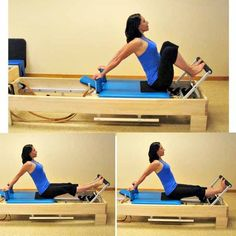 Beginner Pilates Reformer Workout: Stomach Massage - Arms Back