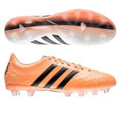 75b2eb88 Adidas adiPure 11Pro FG Soccer Cleats (White/Black/Flash Orange). Botas De  FútbolEjercicios ...