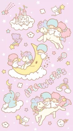 Sanrio Little Twin Stars ❤ Wallpaper