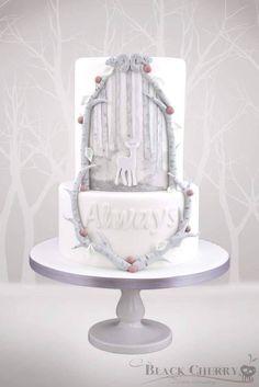 wedding cake harry potter